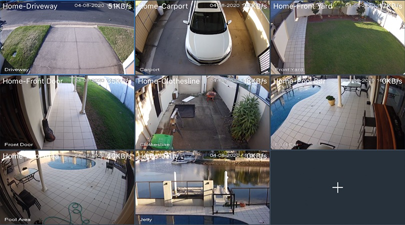 Security camera examples